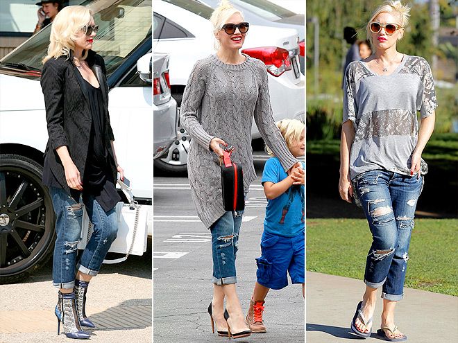 PAIGE JEANS  photo | Gwen Stefani