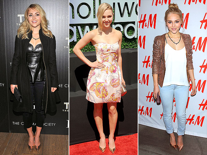 STUART WEITZMAN PUMPS  photo | AnnaSophia Robb