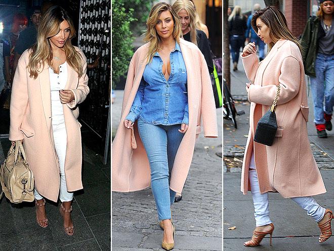 CÉLINE COAT  photo | Kim Kardashian
