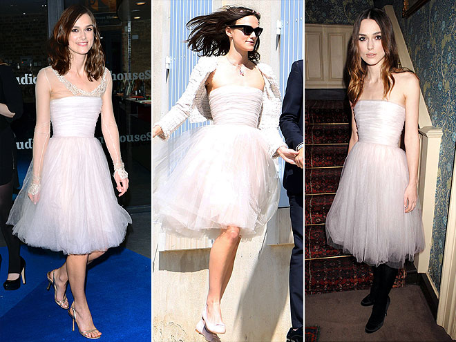 CHANEL DRESS  photo | Keira Knightley
