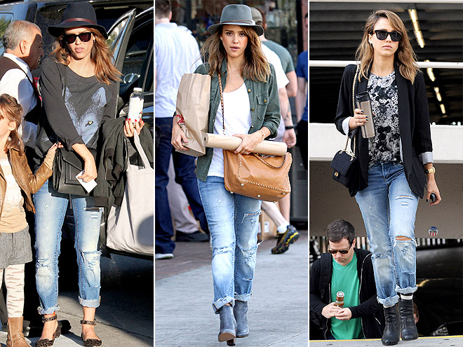 BLANK NYC JEANS  photo | Jessica Alba