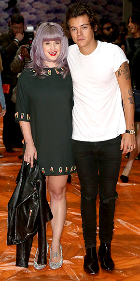KELLY OSBOURNE & HARRY STYLES  photo | Harry Styles, Kelly Osbourne
