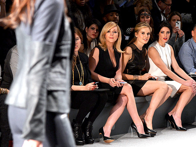 KAUFMANFRANCO FRONT ROW photo | Ashley Greene, Jane Krakowski, Maggie Grace