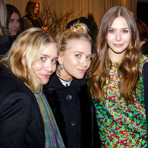 ELIZABETH AND JAMES PRESENTATION photo | Ashley Olsen, Elizabeth Olsen, Mary-Kate Olsen