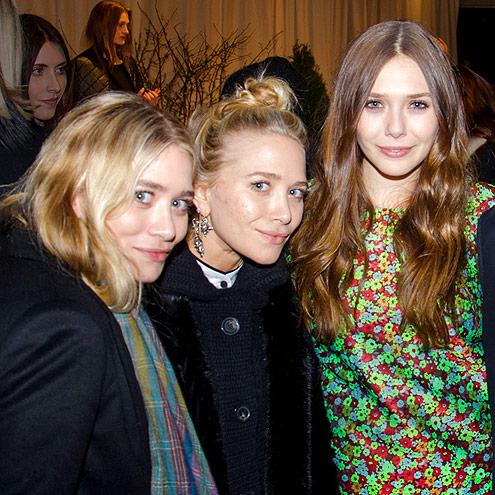 ELIZABETH AND JAMES PRESENTATION photo | Ashley Olsen, Elizabeth Olsen, Mary-Kate Olsen