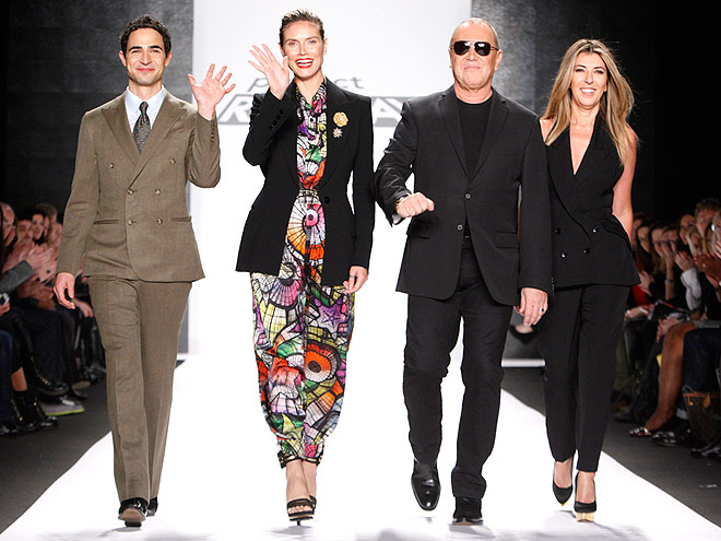 PROJECT RUNWAY JUDGES photo | Heidi Klum, Michael Kors, Zac Posen