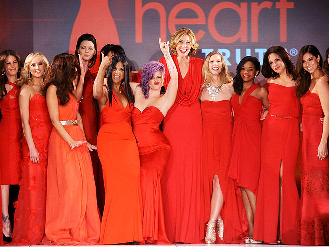 HEART TRUTH FASHION SHOW photo | Kelly Osbourne, Minka Kelly, Toni Braxton