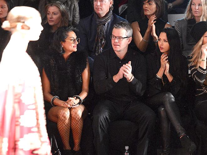 MATT DAMON & LUCIANA BARROSO photo | Matt Damon