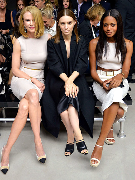 NICOLE KIDMAN, ROONEY MARA & NAOMIE HARRIS photo | Nicole Kidman, Rooney Mara