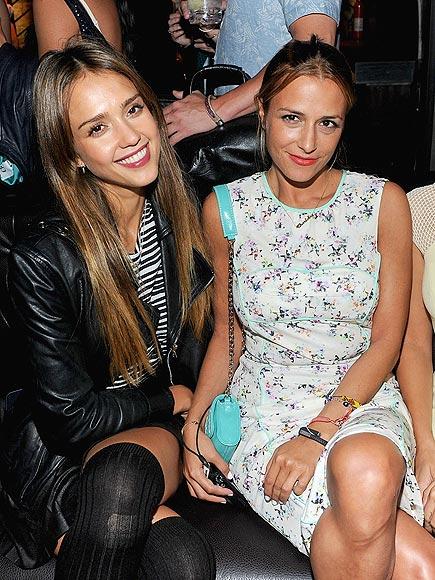 JESSICA ALBA AND CHARLOTTE RONSON photo | Charlotte Ronson, Jessica Alba