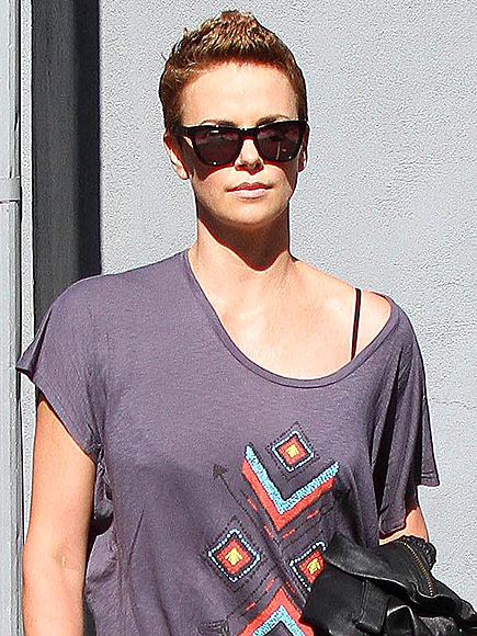 THE FEMALE FAUX HAWK photo | Charlize Theron