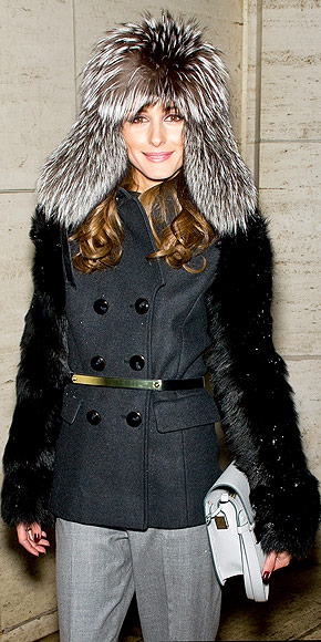 FURRY HATS photo | Olivia Palermo