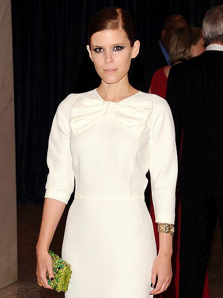 BOW TIES ON DRESSES photo   Kate Mara
