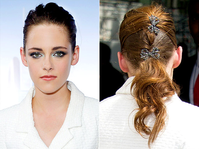 BOW BARRETTES photo | Kristen Stewart