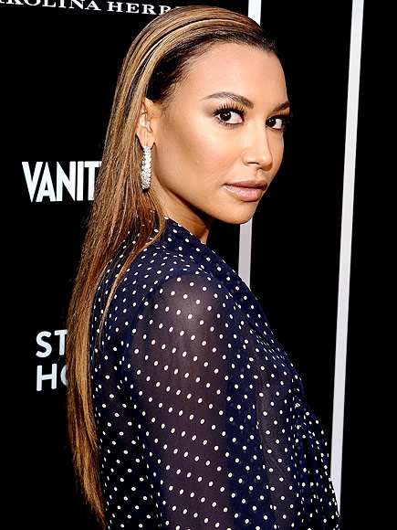 SLICKED-DOWN DOS photo | Naya Rivera