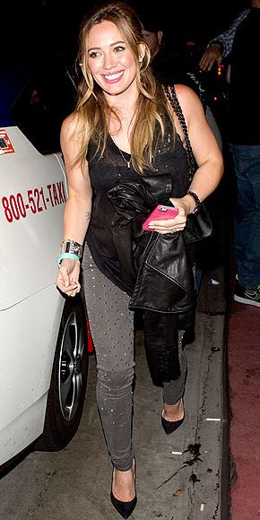 STUDDED JEANS photo | Hilary Duff