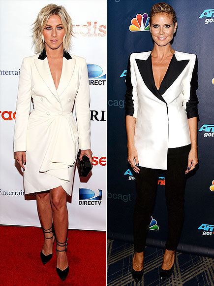 SHOULDER PADS photo | Heidi Klum, Julianne Hough