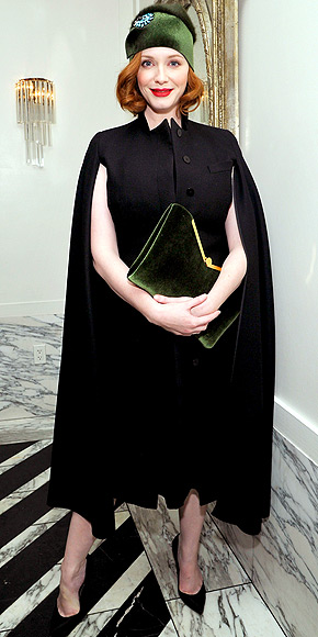 SERIOUSLY OVERSIZE CLUTCHES photo | Christina Hendricks