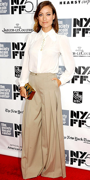 SUPER WIDE-LEG PANTS photo | Olivia Wilde