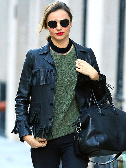 FRINGE JACKETS photo | Miranda Kerr
