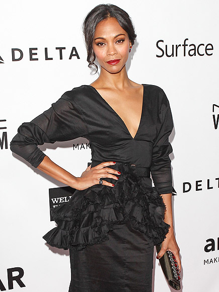 PIÑATA PEPLUMS photo | Zoe Saldana