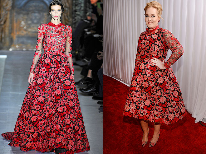 ADELE IN VALENTINO photo | Adele