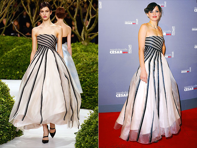 MARION IN DIOR HAUTE COUTURE photo   Marion Cotillard