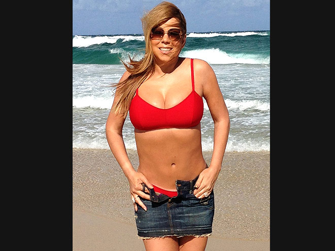 MARIAH CAREY'S BATHING SUIT photo | Mariah Carey