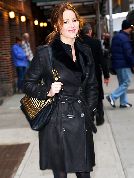 JENNIFER LAWRENCE'S COAT photo | Jennifer Lawrence
