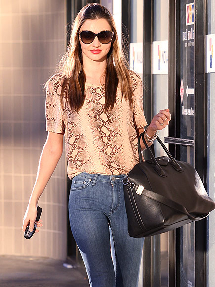 MIRANDA KERR&#39;S BAG photo | Miranda Kerr