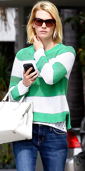 JANUARY JONES&#39;S SWEATER photo | January Jones