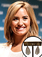 You Asked, We Found: Demi's Earrings and More!
