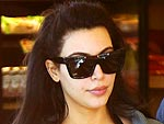 Kim Kardashian Heads to a Work Out