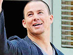 Channing Tatum Doles Out Beads in New Orleans