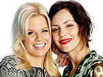Megan Hilty and Katharine McPhee: We Like to Do Stupid Things on Set