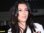 Kim Kardashian Keeps a Low Profile at LAX | Kim Kardashian
