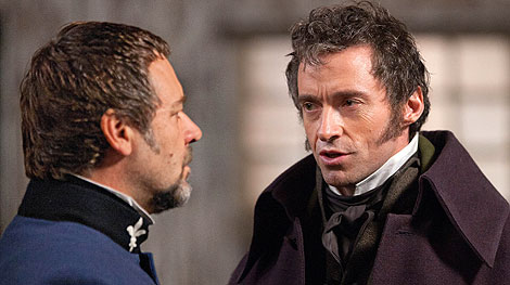 First Look: Listen to Hugh Jackman and Russell Crowe Do Unusual Vocal Warm-Ups