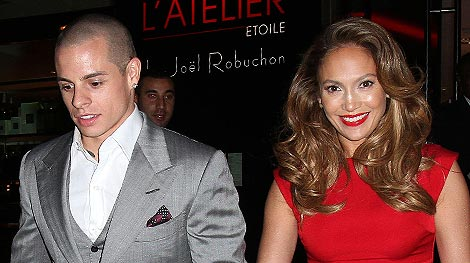 Jennifer Lopez's Red Hot Date