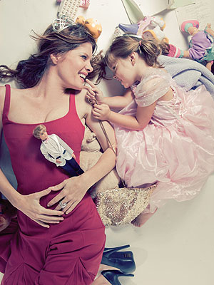 Michelle Stafford Blog: How I Became a Mom