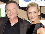 Robin Williams on Sarah Michelle Gellar's Eau de Bébé