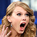 Taylor Swift's OMG Face – Over, and Over, and Over