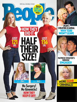 photo | Half Their Size on Covers, Half Their Size, Dean McDermott, Patrick Swayze, Tori Spelling