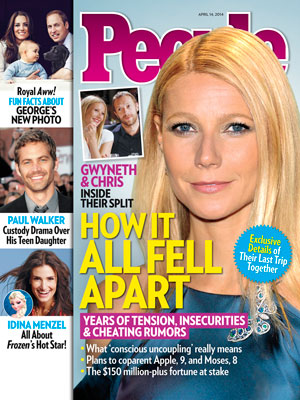 photo | Breakups, Death, Lupo, Frozen, Chris Martin Cover, Gwyneth Paltrow Cover, Chris Martin, Gwyneth Paltrow, Idina Menzel, Kate Middleton, Paul Walker, Prince George, Prince William