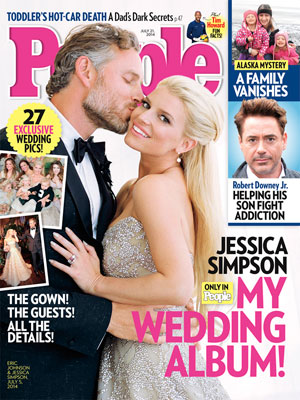 photo | Wedding, Jessica Simpson Cover, Real People Stories, Eric Johnson, Jessica Simpson, Robert Downey Jr.