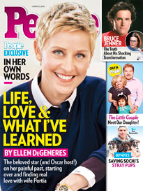 Ellen on Life, Love and Laughter!