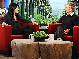 Courteney Cox Has a 'Unique Relationship' with David Arquette (and Christina McLarty!) | Courteney Cox, Ellen DeGeneres