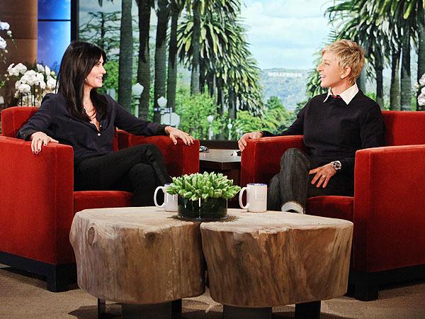 Courteney Cox Ellen DeGeneres Show