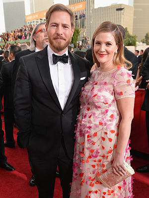 Golden Globes Drew Barrymore Pregnant Will Kopelman