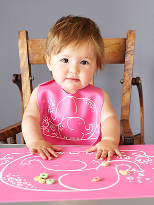 Modern Twist Meal Mat and Bib Giveaway