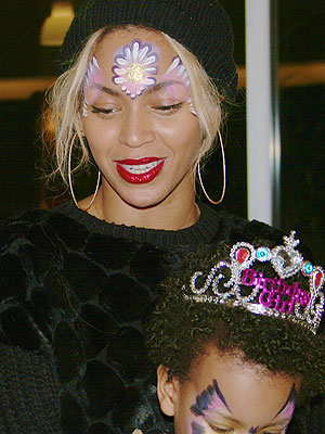 Beyonce Blue Ivy Birthday Photos